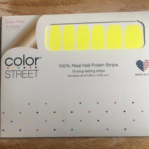 Color Street nail strips -  RETIRED Electric City